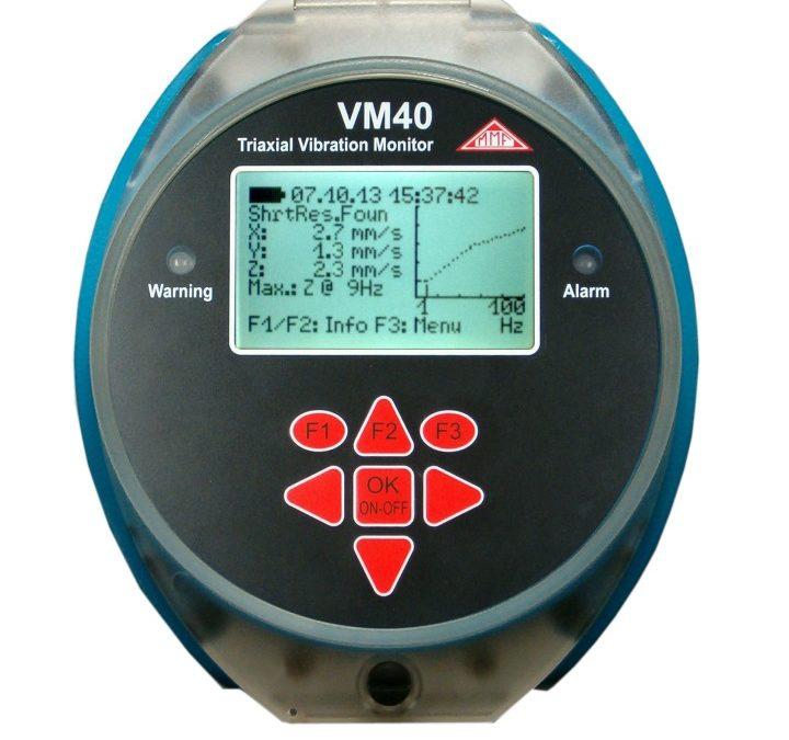 Monitoraggio vibrazionale degli edifici: VM-40