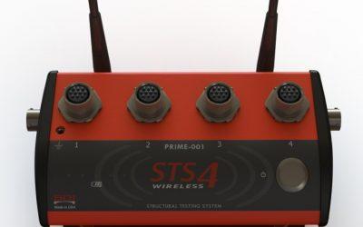 STS4 Sistema wireless per prove su strutture