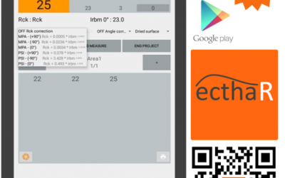 Applicazione per indagini sclerometriche: App ECTHA-R